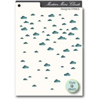 Memory Box Stencil Mini Clouds 88603