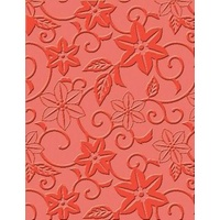 CRAFT CONCEPTS Embossing Folder In Bloom 4.25 x 5.25