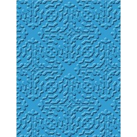 CRAFT CONCEPTS Embossing Folder Ornate Treasurers Tuscan Tiles 5x7 FREE SHIPPING