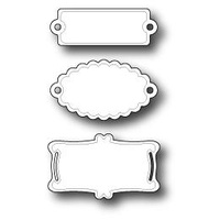 Memory Box Die Pastry Labels 98107
