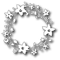 Memory Box Die Catalina Wreath 98189