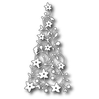 Memory Box Die Flowering Christmas Tree 98195