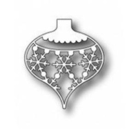Memory Box Die Snowflake Ornament 98231