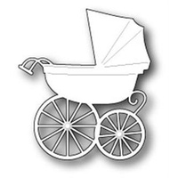 Memory Box Die Baby Carriage 98528