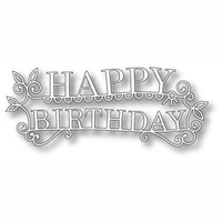 Memory Box Die Happy Birthday Extravaganza 98765