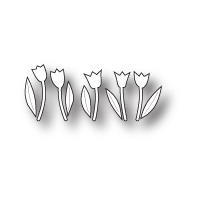 Memory Box Die Tiny Tulips 98834