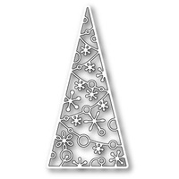 Memory Box Die Sparkling Tree Tile 98919