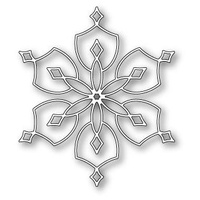 Memory Box Die Normandy Snowflake 98945