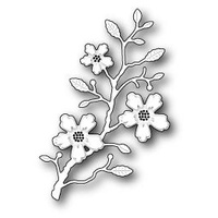 Memory Box Die Blushing Flower Branch 98980