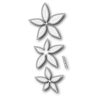 Memory Box Die Poinsettia Bloom Trio 98995