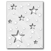 Memory Box Die All Star Detail Plate 99070
