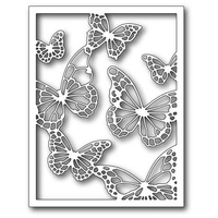 Memory Box Die Floating Butterfly Frame 99138