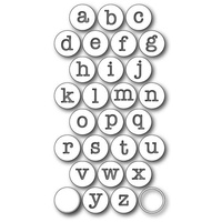 Memory Box Die Contour Typewriter Keys 99170