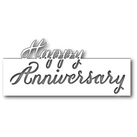 Memory Box Die Grand Happy Anniversary Script 99205