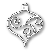 Memory Box Die Scrollwork Ornament 99221