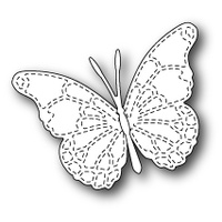 Memory Box Die Stitched Vivienne Butterfly 99271