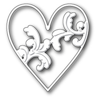 Memory Box Die Elliana Heart 99355