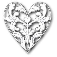 Memory Box Die Exquisite Heart 99364