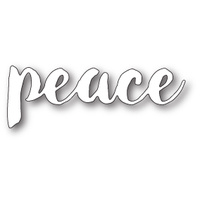 Memory Box Die Brush Stroke Peace 99573