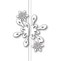 Memory Box Die Bright Snowflake Closer 99586