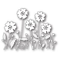 Memory Box Die Antilles Floral Border 99625