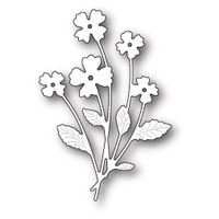Memory Box Die Petite Flower Bunch 99654