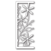 Memory Box Die Stitched Aster Panel 99687