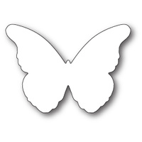 Memory Box Die Chantilly Butterfly Background 99783