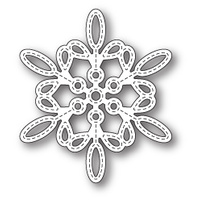 Memory Box Die Purslane Snowflake Outline 99786