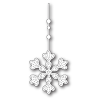Memory Box Die Hanging Evelyn Snowflake 99792
