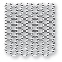 Memory Box Die Honeycomb Square 99921