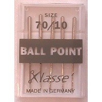 Klasse Ball Point Needles Size 70/10