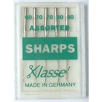 Klasse Sharps Assorted Sizes 60, 70, 80