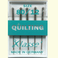 Klasse Machine Quilting Needles 80/12