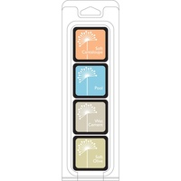 Hero Arts Shadow Dye Ink Cubes 4 colours Just Beachy
