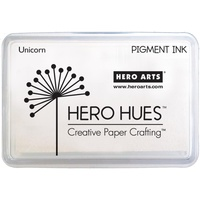 Hero Hues Pigment Ink Pad Unicorn