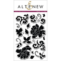 Altenew Lacy Scrolls Stamp Set ALT1009
