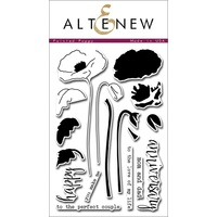 Altenew Painted Poppy Stamp Set ALT1013
