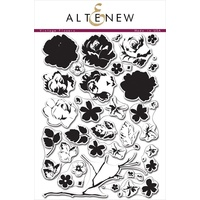 Altenew Vintage Flowers Stamp Set ALT1017