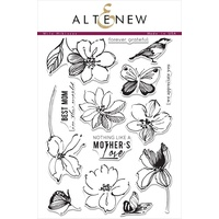Altenew Wild Hibiscus Stamp Set ALT1022