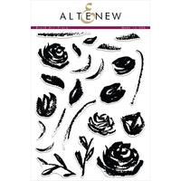 Altenew Brush Art Floral Stamp Set ALT1028