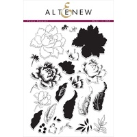 Altenew Peony Bouquet Stamp Set ALT1030