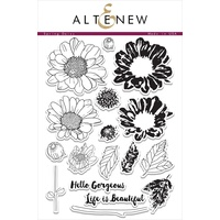 Altenew Spring Daisy Stamp Set ALT1034
