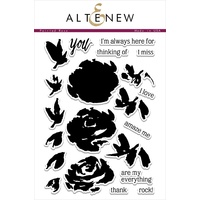 Altenew Painted Rose Stamp Set ALT1036