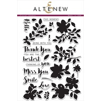 Altenew Floral Shadow Stamp Set ALT1039
