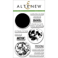 Altenew To the Moon Stamp Set ALT1074 FREE SHIPPING
