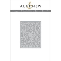 Altenew Layered Medallions Cover Die A ALT1595