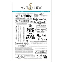 Altenew Crafty Friends Stamp Set ALT1688