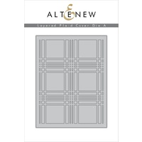 Altenew Layered Plaid Cover Die A ALT1714