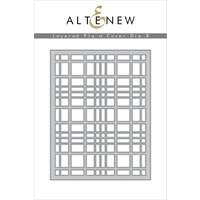 Altenew Layered Plaid Cover Die B ALT1715